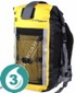 Waterproof 20 Liter Pro-Sports Backpack - Yellow