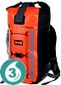 Waterproof 20 Liter Pro-Vis Backpack- Orange
