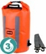 Waterproof 20 Liter Pro-Vis Dry Tube- Orange