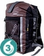 Waterproof 30 Liter Pro-Sports Backpack- Brown