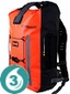 Waterproof 30 Liter Pro-Vis Backpack- Orange