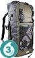 Waterproof 50 Liter Ultra-Light Backpack - Green