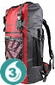 Waterproof 50 Liter Ultra-Light Backpack - Red
