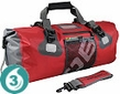 Waterproof 50 Liter Ultra-Light Duffel - Red