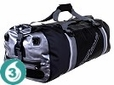 Waterproof 60 Liter Pro-Sports Duffel- Black