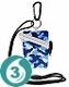 Waterproof Card Case - Blue Camo