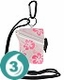 Waterproof Card Case - Pink Flower