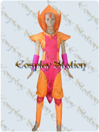 Adventure Time Flame Prince Cosplay Costume