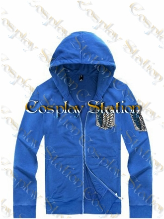 Attack On Titan Survey Corps / Recon Corps Cosplay Hoodie