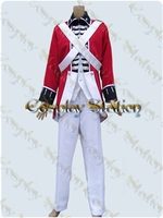 "Axis Powers Hetalia England British Red Coat Cosplay Uniform_<font color=""red"">New Arrival!</font>"