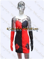 Batman Harley Quinn Custom Made Cosplay Costume: High Quality!