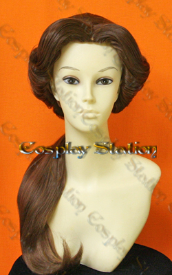 Beauty and Beast Belle Custom Made Cosplay Wig