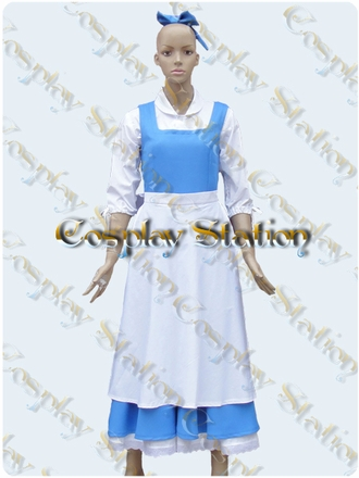 Beauty and the Beast Belle Cosplay Costume