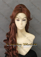 Beauty and the Beast Belle New Park Custom Made Cosplay Wig