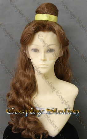 Beauty and the Beast Princess Belle Custom Made Lace Front Wig