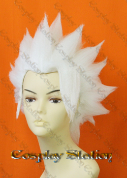 Bleach 10th Division Toushiro Hitsugaya Cosplay Wig