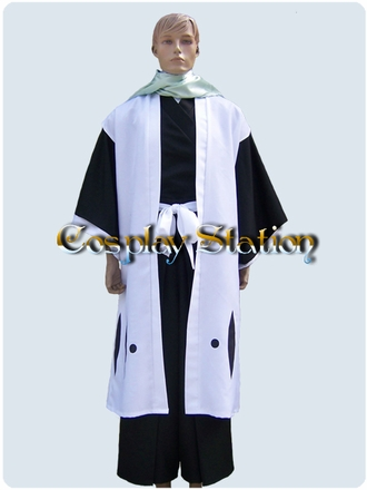 """Bleach 6 Division Kuchiki Byakuya Cosplay Costume_<font color=""""red"""">New Arrival!</font>"""