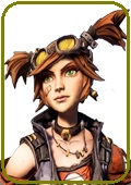 Borderlands 2 Gaige the Mechromancer Cosplay Wig