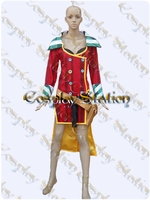 Borderlands Moxxis Red Jacket Cosplay Costume