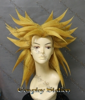 Broly Gold Custom Made Cosplay Wig