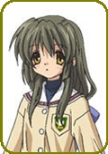 Clannad Fuko Ibuki Custom Made Cosplay Wig
