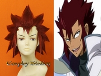 Fairy Tail Cobra Custom Styled Cosplay Wig
