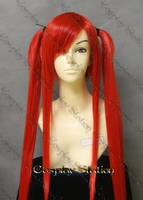 Fairy Tail Erza Scarlet Flame Empress Armor Custom Made Cosplay Wig