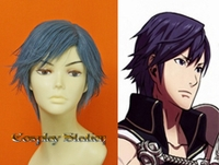 Fire Emblem Awakening Chrom Custom Made Cosplay Wig
