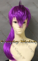 Futurama Leela Custom Styled Cosplay Wig