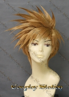 Golden Sun Dark Dawn Isaac/Robin Custom Made Cosplay Wig