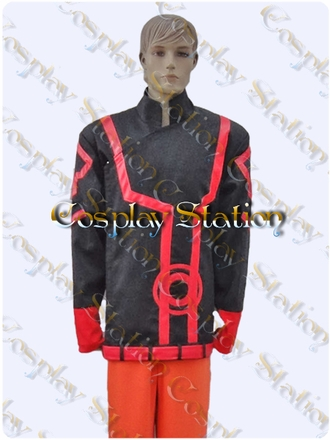 Green Lantern Guy Gardner's Red Lantern Cosplay Jacket