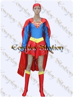 Supergirl Cosplay Costume _ New Version
