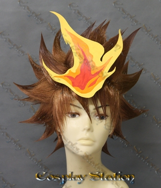 Katekyo Hitman Reborn! Tsuna Custom Made Cosplay Wig