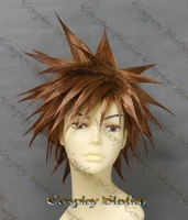 Kingdom Hearts 2 Sora Custom Made Cosplay Wig