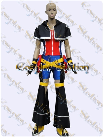Kingdom Hearts Sora Custom Made Cosplay Costume