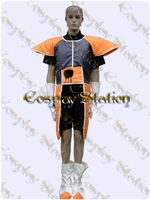 Krillin in Saiyan Armor Custom Made Cosplay Costume