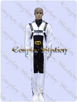 Macross Robotech Roy Fokker Flightsuit Cosplay Costume
