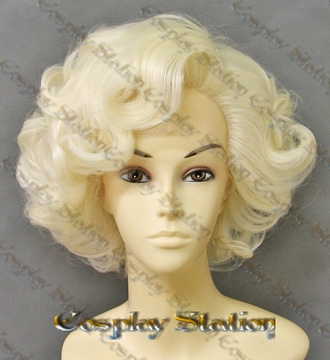 Marilyn Monroe Celebrity Custom Made LACE FRONT Wig