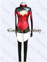 Ms Marvel Carol Danvers Cosplay Costume: High Quality!