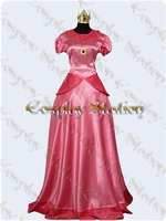 Nintendo Princess Peach Cosplay Costume