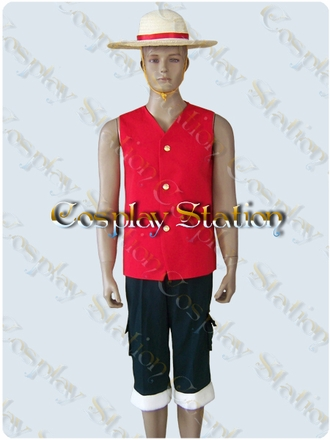"One Piece Cosplay Luffy Cosplay Costume_<font color=""red"">New Arrival!</font>"