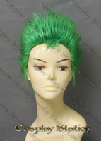 One Piece Roronoa Zoro Custom Made Cosplay Wig