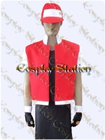 Pok�mon Trainer Red Cosplay Costume
