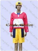 Pokemon Gold rainer Cosplay Costume
