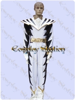 Power Rangers White Power Ranger AbareKiller Cosplay Costume