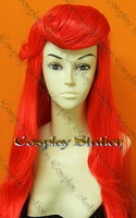 The Little Mermaid Princess Ariel Custom Made Cosplay Wig