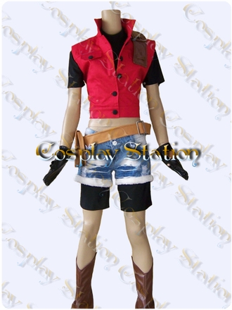 """Resident Evil Darkside Chronicles Claire Redfield Cosplay Costume_<font color=""""red"""">New Arrival!</font>"""