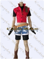 "Resident Evil Darkside Chronicles Claire Redfield Cosplay Costume_<font color=""red"">New Arrival!</font>"
