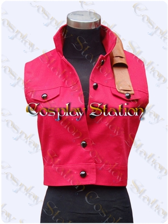Resident Evil Darkside Chronicles Claire Redfield Cosplay Vest