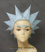 Rick and Morty Rick Custom Made Cosplay Wig